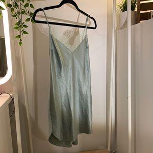 Victoria's Secret Lacey silky mini dress